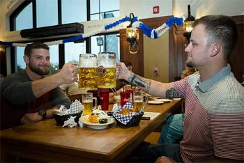 Celebrate Birthdays at the Bavarian Bierhaus