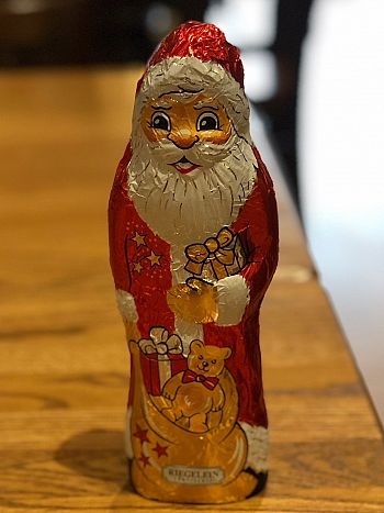 The Chocolate Santa Claus