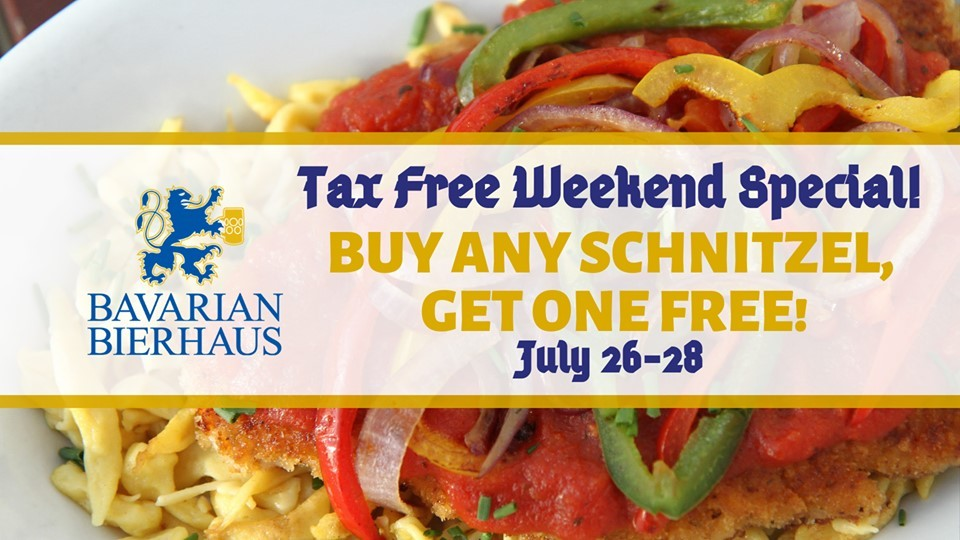 BOGO Schnitzel all Weekend