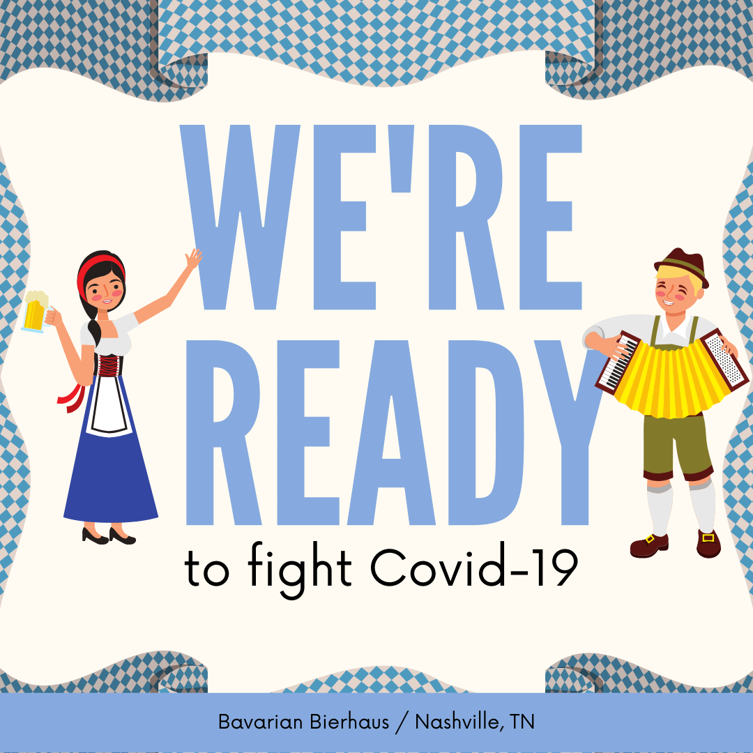 How We Are Fighting COVID-19 at Bavarian Bierhaus